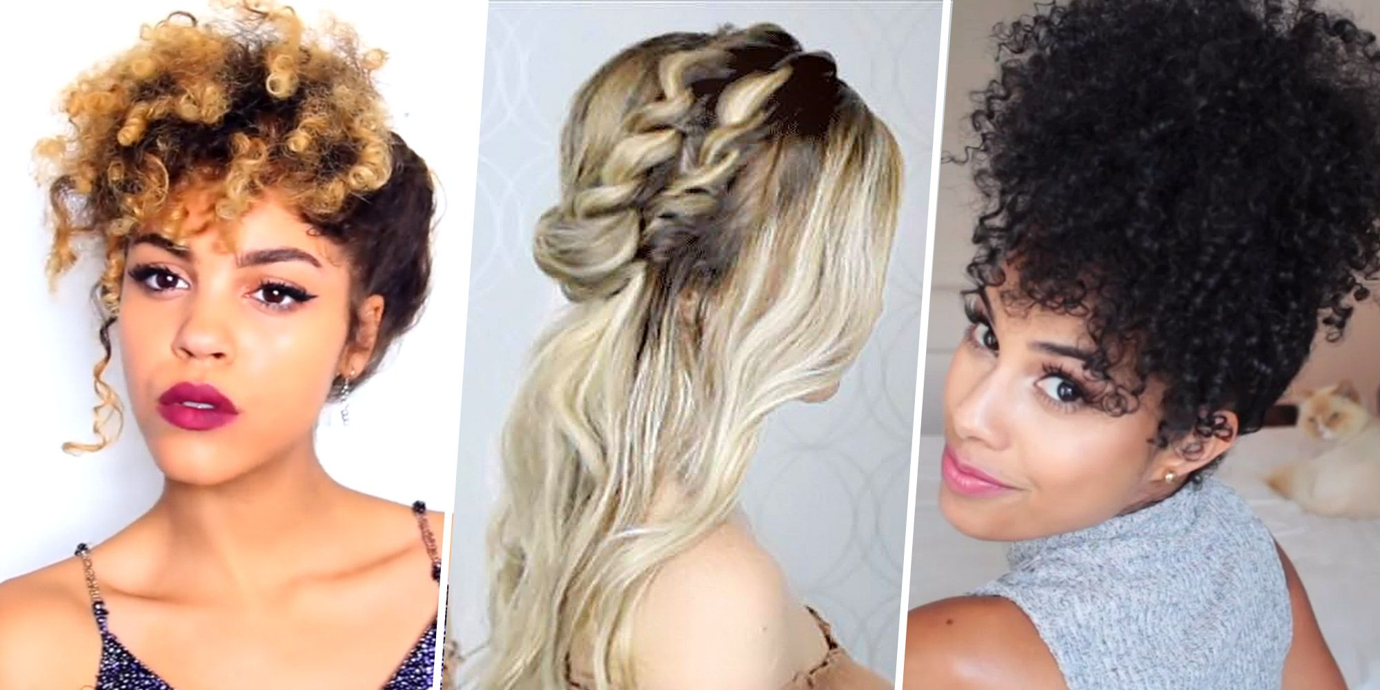 5 Best Hairstyles For Thick Hair Best Thick Hair Hairstyle Tutorials