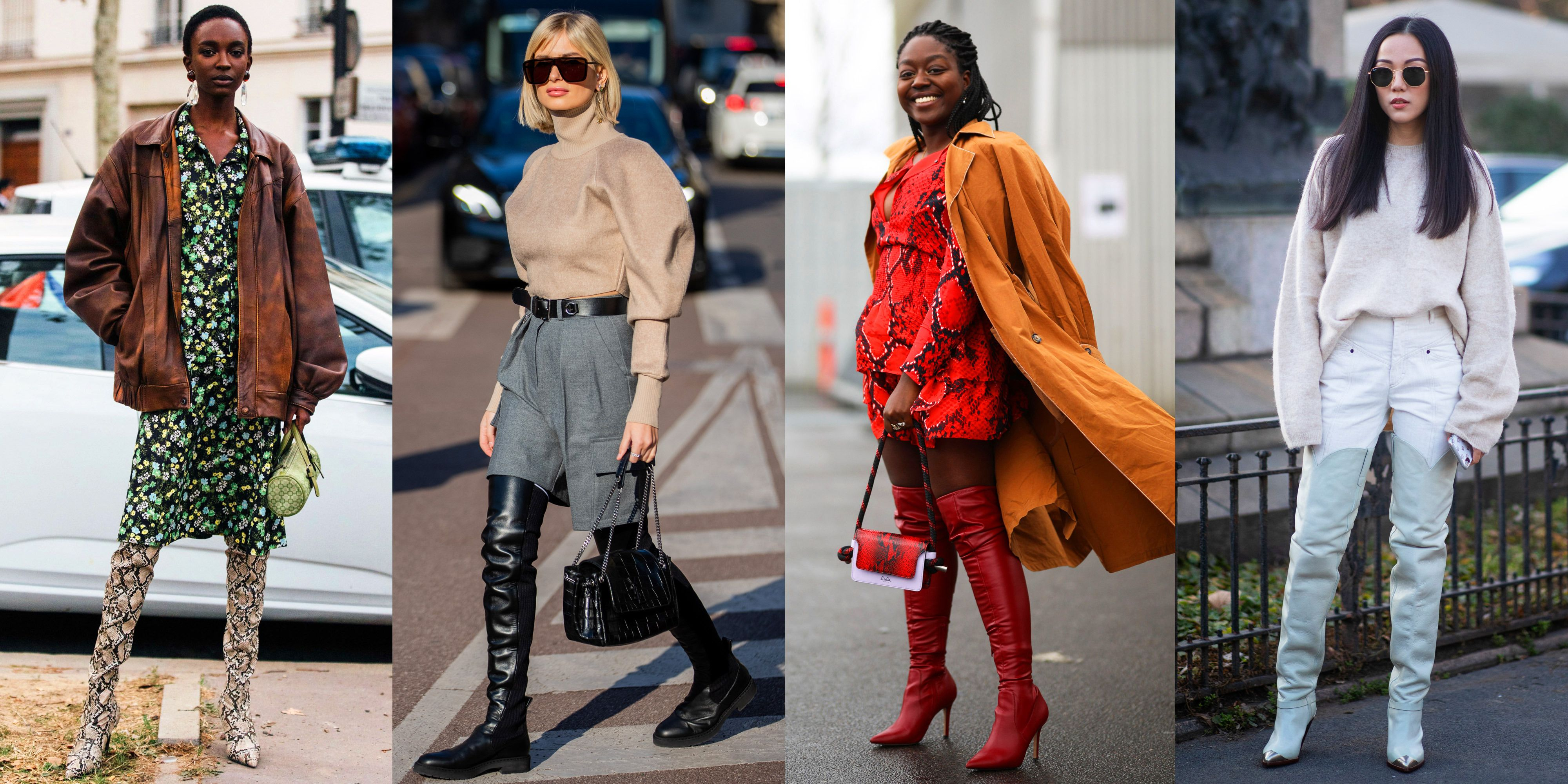 17 Thigh-High Boots Outfit Ideas | How