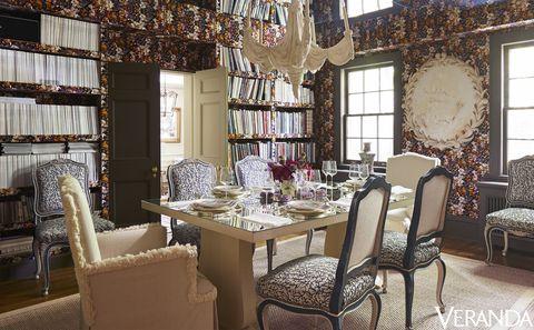 colette van den thillart dining room