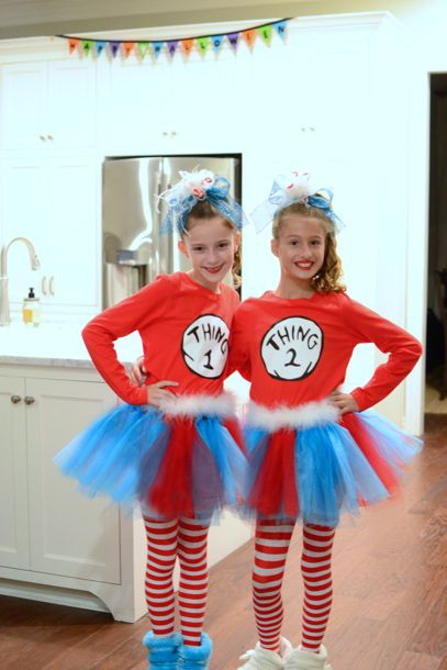 thing 1 thing 2 best friend costumes