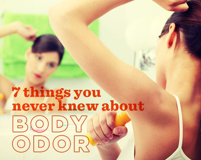7 Things You Never Knew About Body Odor