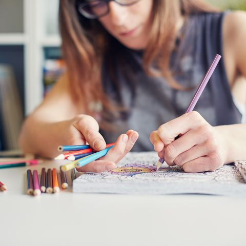 things to do at home coloring