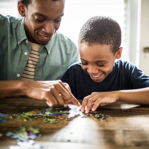 things to do at home family kids_puzzle