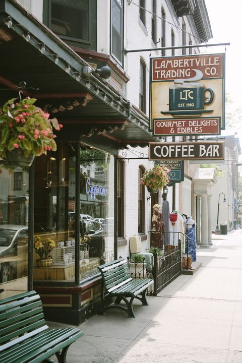 coffee shop lambertville lambertville trading co