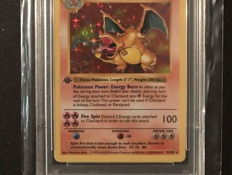 things from 80s 90s worth money charizard