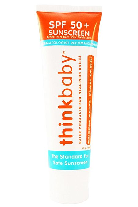 Best Natural Sunscreens for Babies -Thinkbaby Safe Sunscreen