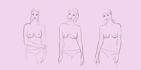 There are nine different types of boobs in the world, apparently