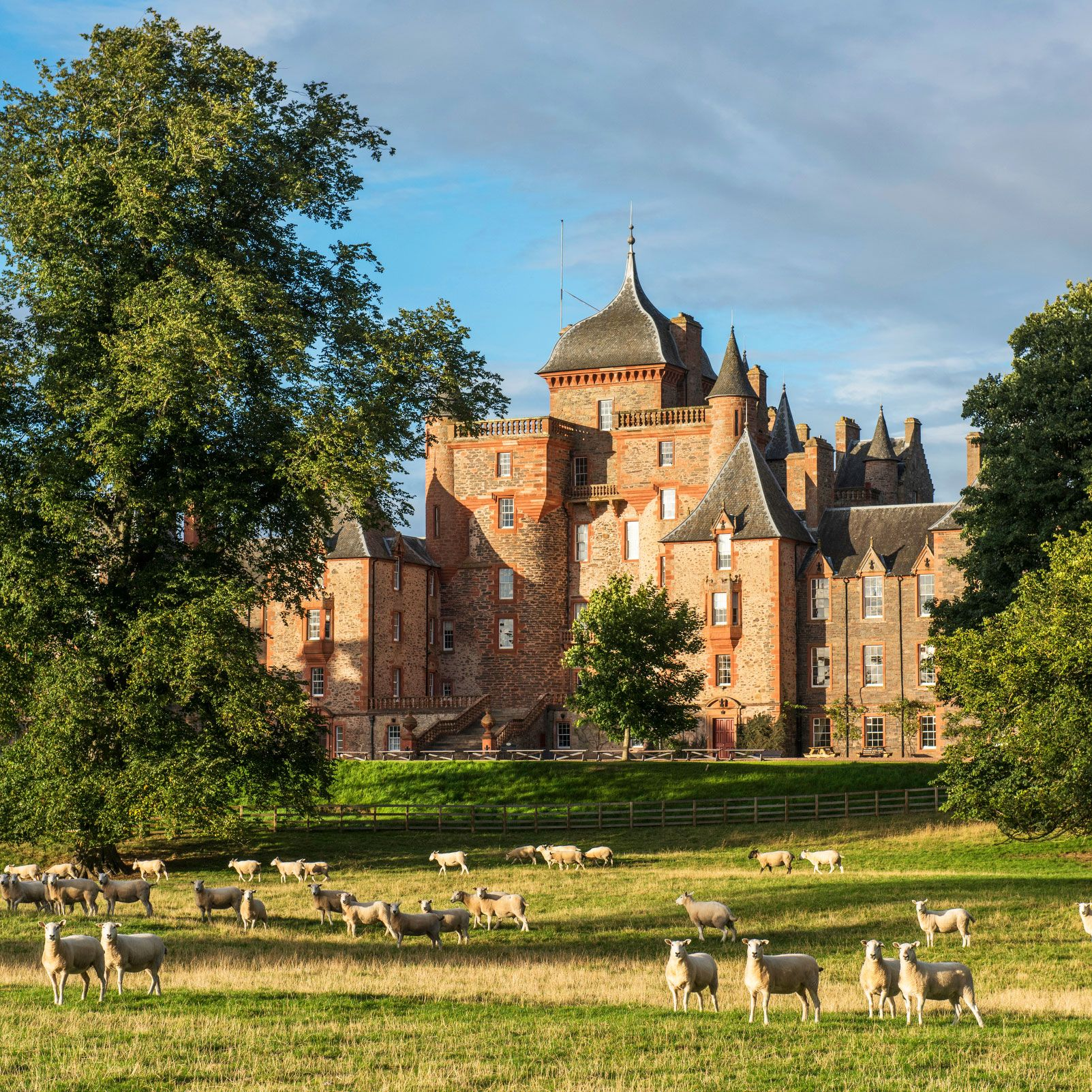 Thirlestane Castle in Berwickshire