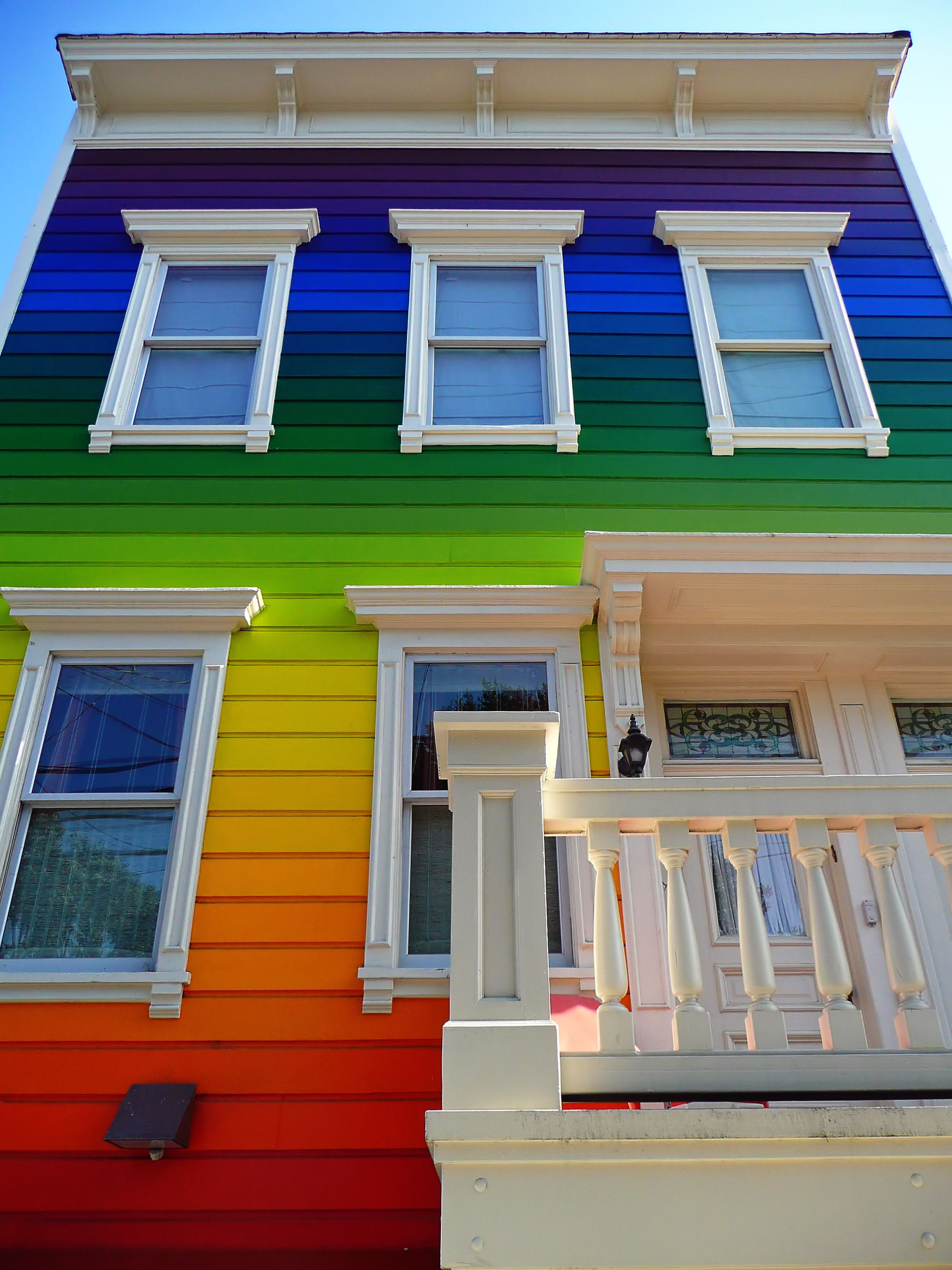 These Rainbow Houses Are Our Favorite Way to Celebrate Pride