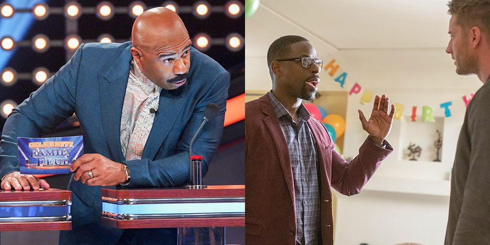 """'This Is Us' Fans Call Out the """"Double Meaning"""" Behind Steve Harvey's Premiere Cameo"""
