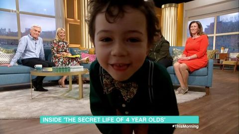 Secret Life of 4-Year-Olds on This Morning