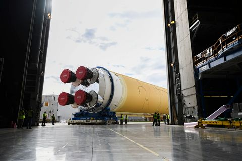 nasa sls  - this nasa photo released on january 6 2020 shows nasas news photo 1625075318 - The Space Shuttle Engines Will Rise Again