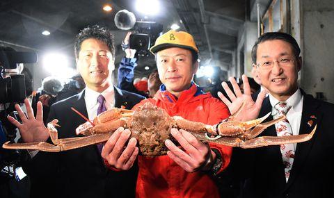 JAPAN-FOOD-FISHING-CRAB