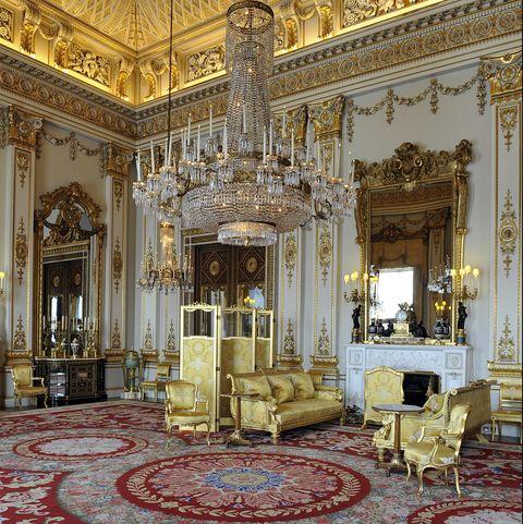 Buckingham Palace, White Drawing Room