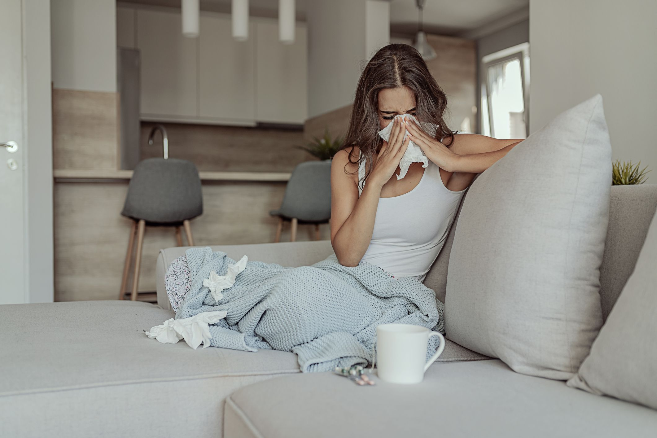 How to treat a cough from allergies