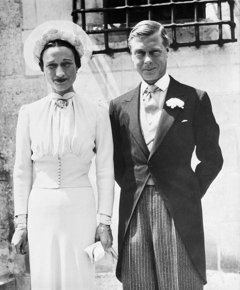 duke and duchess of windsor after their wedding
