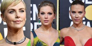 Charlize Theron, Taylor Swift, Scarlett Johansson