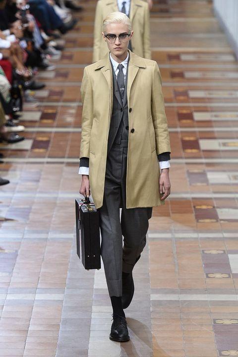 Fashion, Clothing, Street fashion, Coat, Fashion model, Snapshot, Overcoat, Outerwear, Fashion show, Footwear,