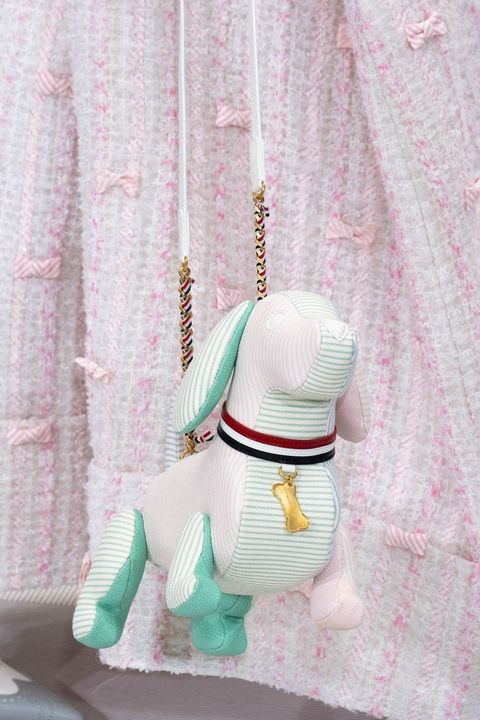 Pink, Costume, Figurine, Fashion accessory, Fictional character,