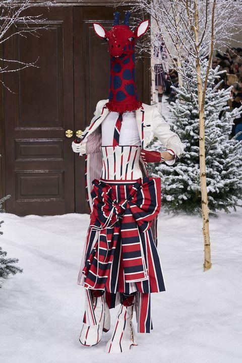 Thom Browne Herfst/Winter 2020 in Parijs