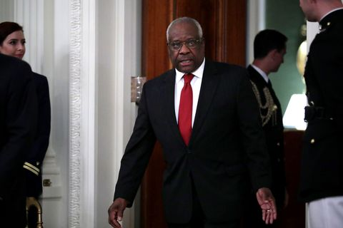 Clarence Thomas Agrees With Our Very Legal President* That We Should 'Open Up the Libel Laws'