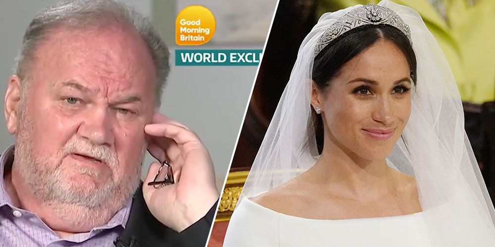 Meghan Markle's Father Thomas Just Spoke Out About That Lifetime Movie and He's Not Happy