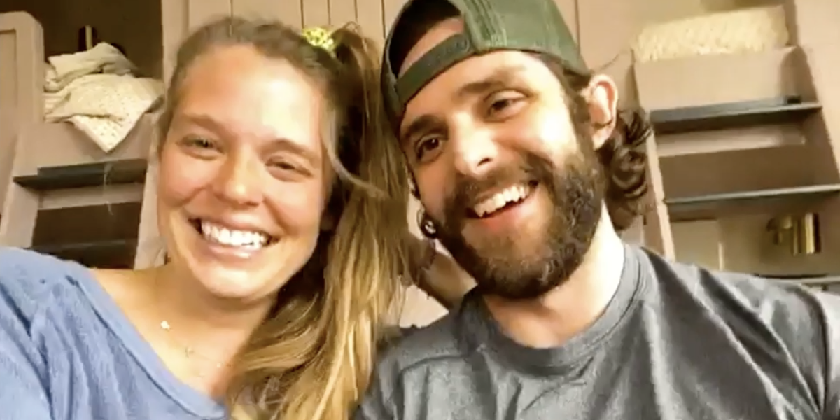 Thomas Rhett and Lauren Akins' Virtual Pep Talk is What We All Need to Hear