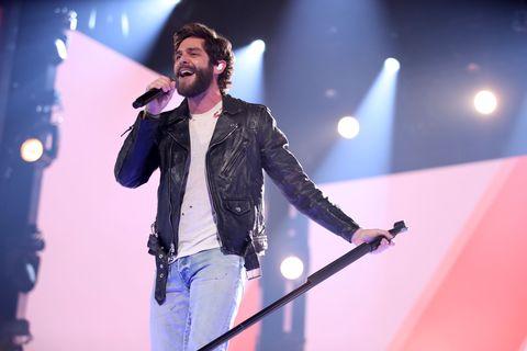 thomas rhett academy of country music awards performance