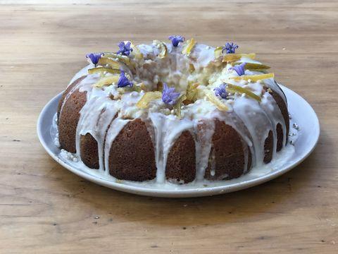 Thomasina Miers lemon and lime butter cake