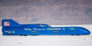 Danny Thompson land-speed record