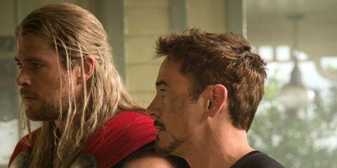Thor Iron Man
