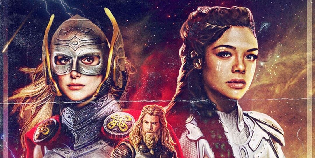 Thor: Love and Thunder' ya tiene su propio fan-poster - MCU
