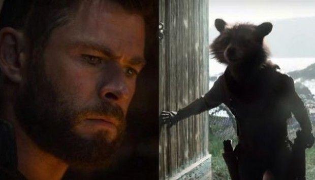'Vengadores: Endgame': Escena Eliminada Thor y Rocket - Cómic-Con