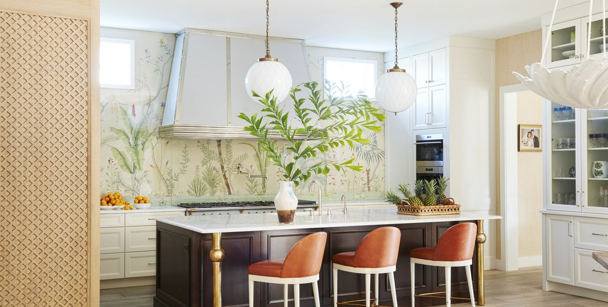 Wallpaper Backsplash Ideas - How to Decorate with ...