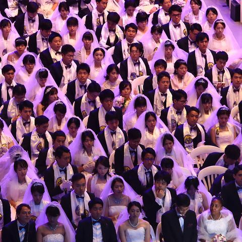 Unification Church Holds Mass Wedding In South Korea