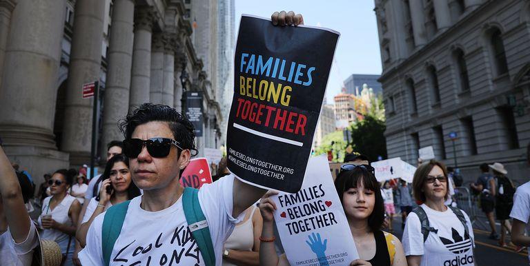 Thousands Across U.S March In Support Of Keeping Immigrant Families Together