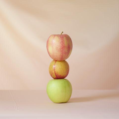 alimentos de otoño manzanas