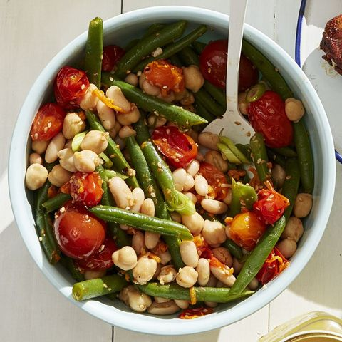 bbq side dishes - Three-Bean Salad Recipe
