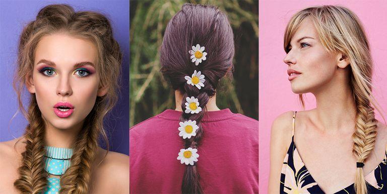 Easy Braided Headband Hairstyles Hair Tutorial
