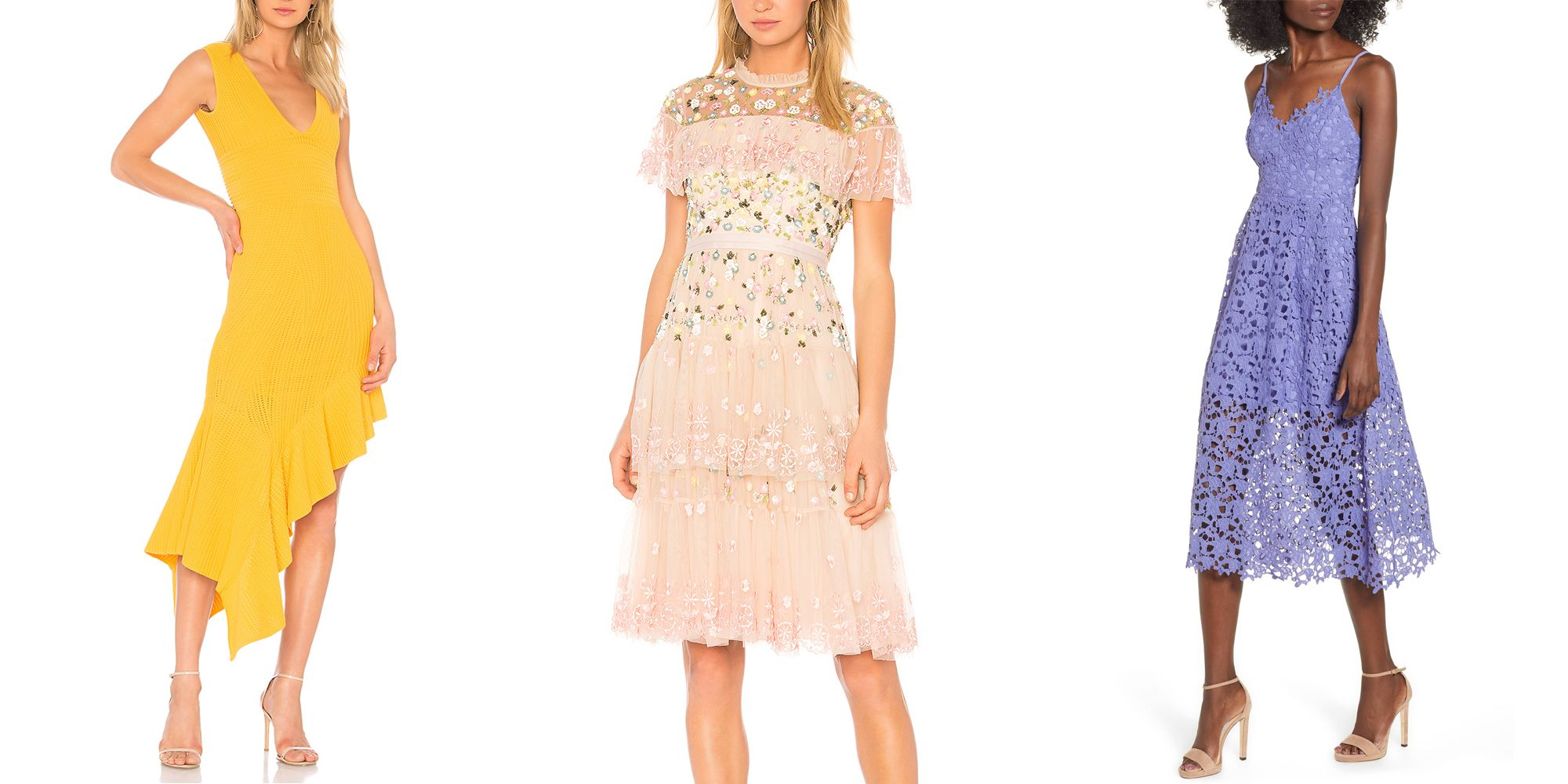 22 Chic Spring Wedding Guest Dresses What To Wear To A Spring 2019