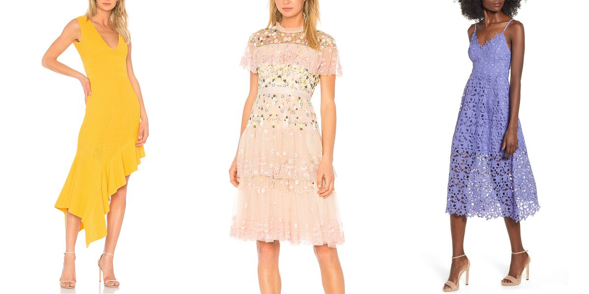 22 chic spring wedding guest dresses  what to wear to a