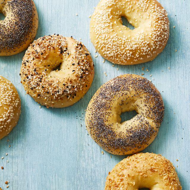 three ingredient bagels