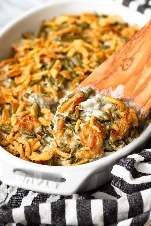 three ingredient green bean casserole recipe