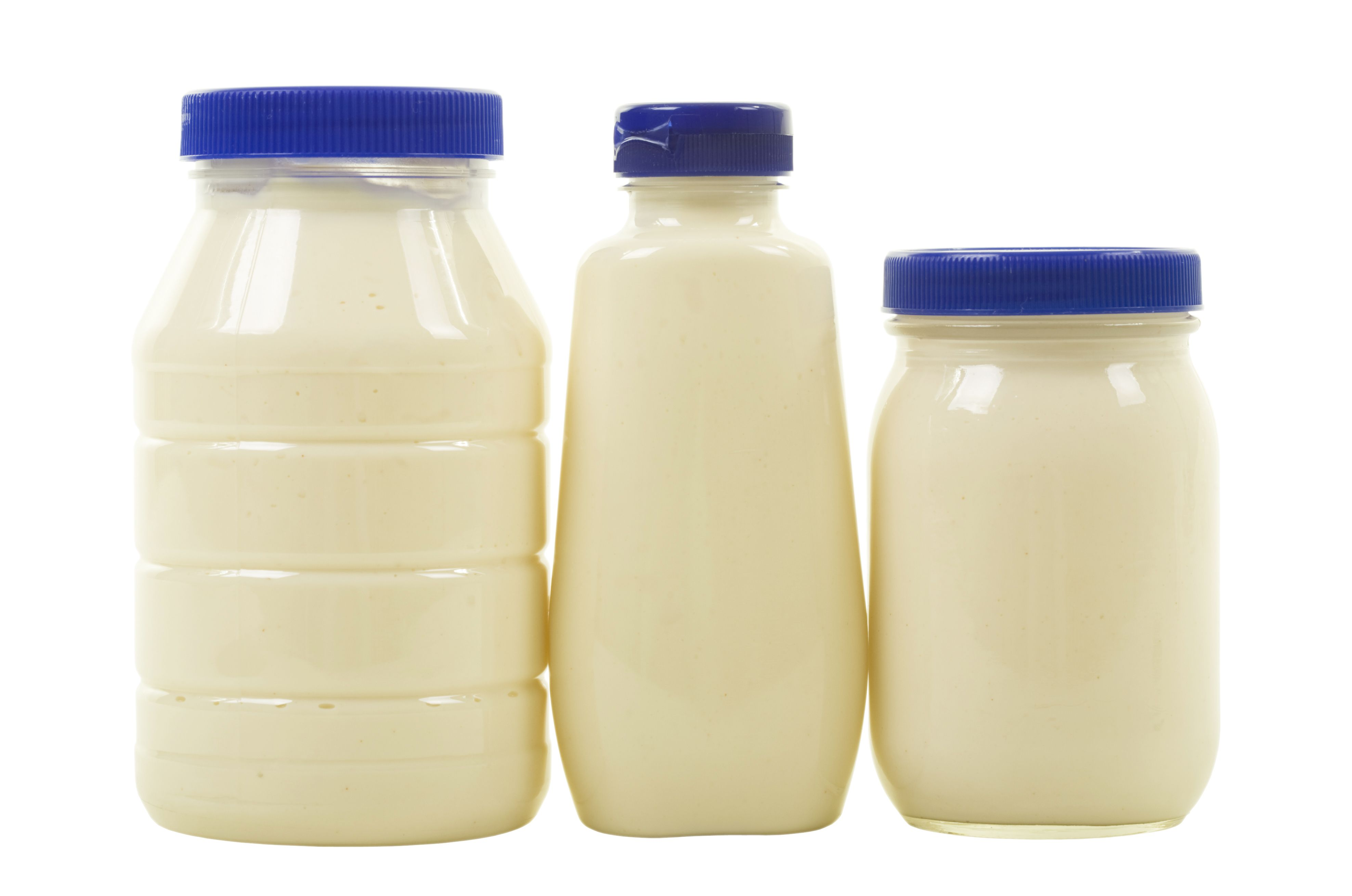 Three Jars with Mayonnaise