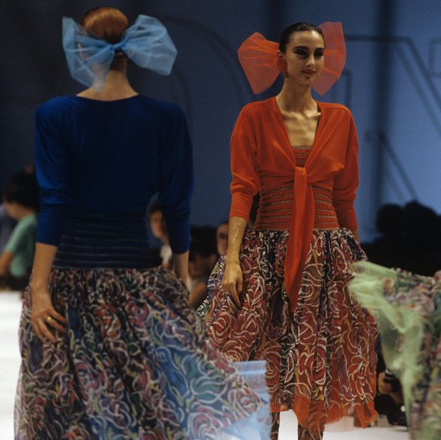 a missoni fashion show