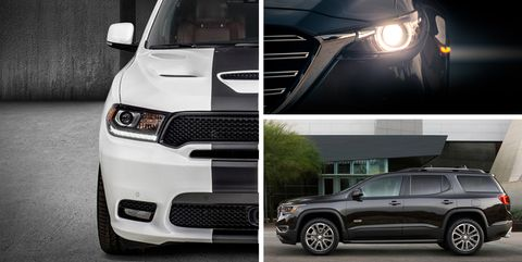 Three Row Crossover And Suv Rankings Car Driver