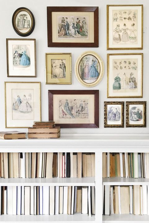 things people collect - hand colored engravings collection