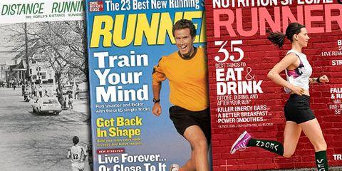 Runner's World Through the Years Slider