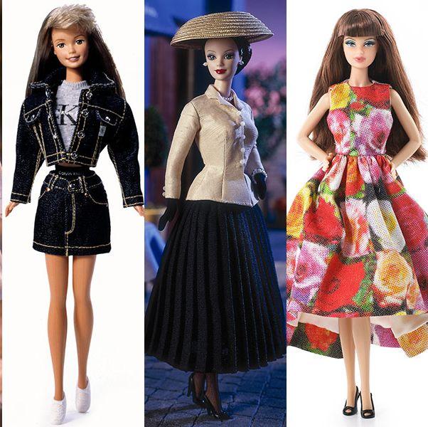 Barbie, Clothing, Fashion model, Doll, Fashion, Toy, Pink, Fashion design, Dress, Street fashion,