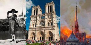 LVMH, Kering, Dior,Notre-Dame de Paris